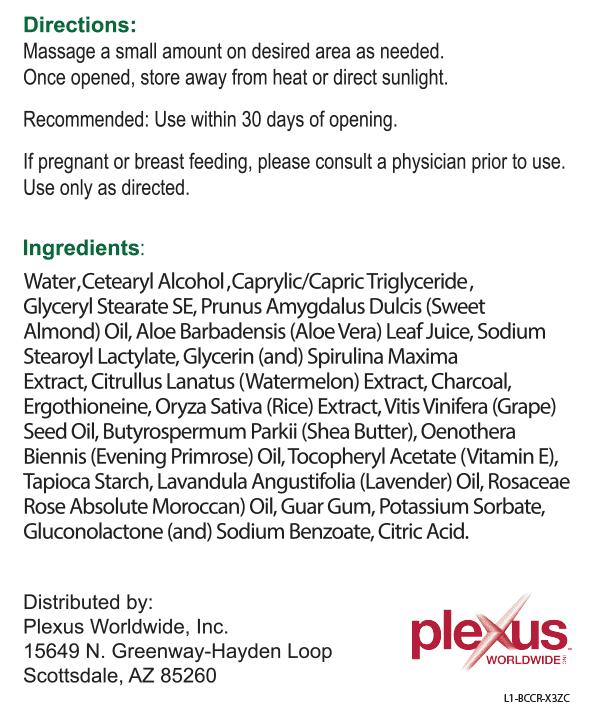 plexus body cream ingredients