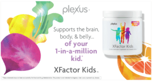 plexus xfactor kids supports the brain body and belly